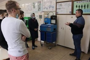 Открытое занятие с учащимися филиала БНТУ «Минский государственный машиностроительный колледж»