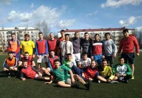 Товарищеский матч по футболу
