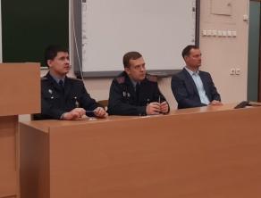 Встреча представителей Отдела по гражданству и миграции Первомайского района г.Минска с иностранными обучающимися