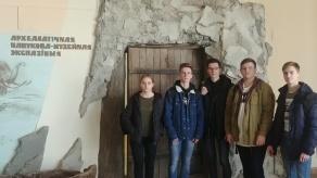 Студэнты-першакурснікі наведалі археалагічную навукова-музейную экспазіцыю БДУ