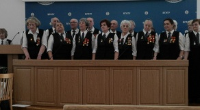 """""""Мы должны помнить о тех трагических годах войны, и мы помним!"""" Встреча с коллективом """"Судьбы"""" в БГАТУ"""