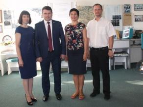 БГАТУ посетили представители Харьковского национального технического университетасельского хозяйства имени Петра Василенко