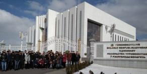 Туркменские студенты БГАТУ приняли участие в выборах