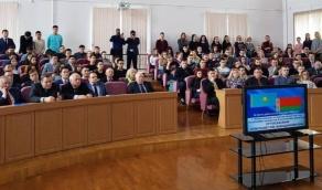 Встреча работников и студентов БГАТУ с Чрезвычайным и Полномочным Послом Республики Казахстан