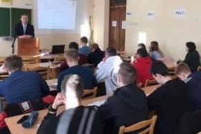 Встреча студентов ФПУ с заместителем прокурора Первомайского района