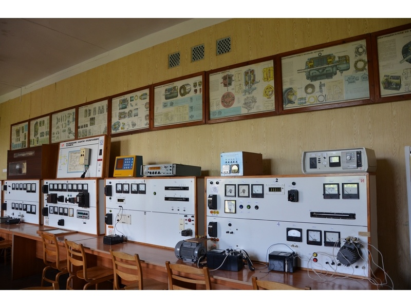 Лаборатория кафедры ЭСХП 2