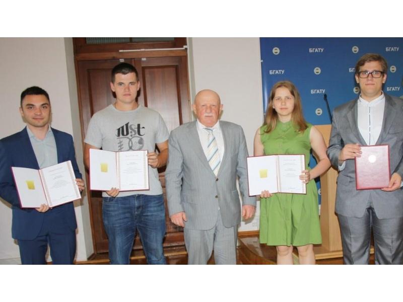 Стипендиаты специального фонда Президента Республики Беларусь