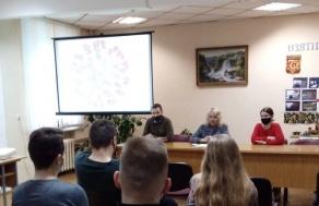 Открытый диалог с заместителем главы администрации Первомайского района г. Минска Осадчей Е.А.